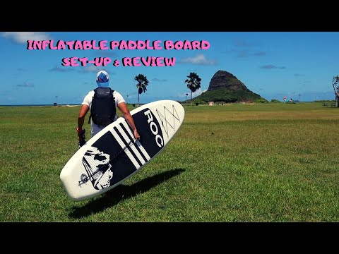 ROC inflatable paddle board review   Cheap Inflatable Paddle Board