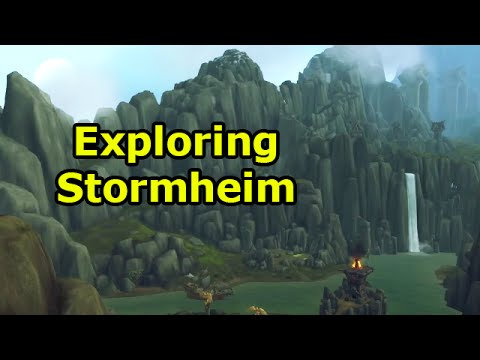 WoW Legion Alpha: Exploring Stormheim