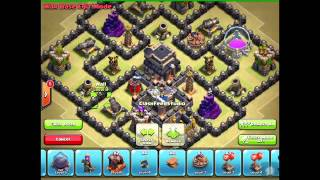 Best UNDEFEATED #1 Town Hall 7 TH7 Clan Wars Base with Air Sweeper   ANTI DRAG   Clash of Clans   Yo