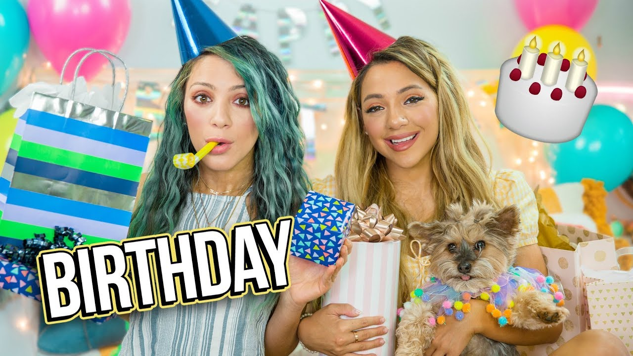 Opposite Twins Birthday Gift Exchange Niki And Gabi