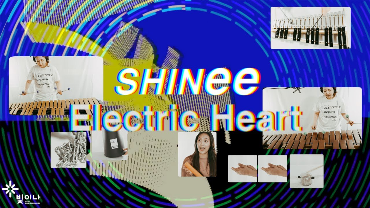 Electric Heart by SHINee 샤이니 Percussion cover