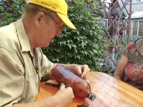 видео: Барышня крестьянка. Отпугиватель от кротов и птиц, своими руками