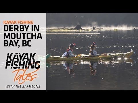 Kayak Fishing Derby In Moutcha Bay, British Columbia