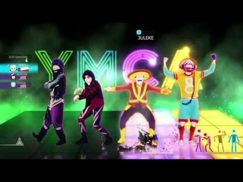 Just Dance 2014 World Dancefloor Wii U Gameplay - Village People: YMCA