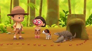 Leo The Wildlife Ranger Minisode #104 - Malayan Pangolin