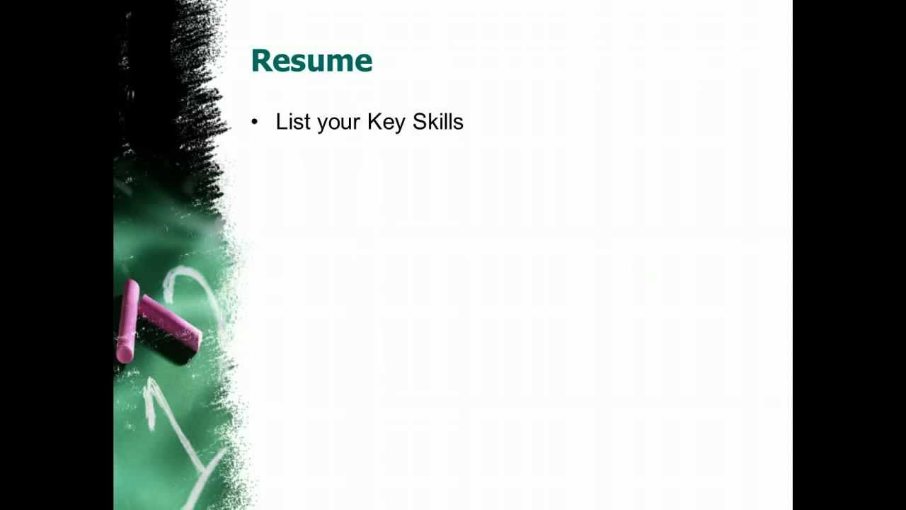 how to prepare resume for freshers jobs