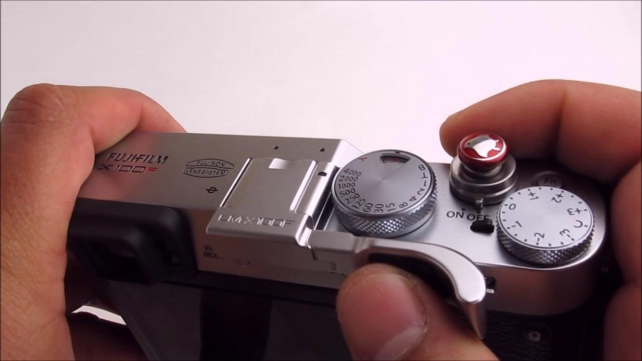 Fujifilm X100F Thumbrest Black by Lensmate