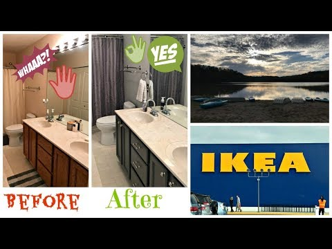 Renovating Our Bathroom, Camping, Ikea, Garage Sale Day, and more!