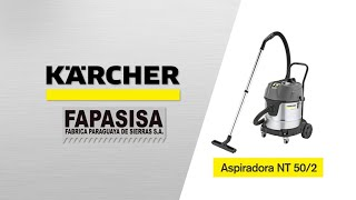 Aspiradora Industrial NT 50/2 ME - Kärcher FAPASISA Paraguay