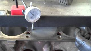 Checking Piston To Block Deck Clearance.mp4