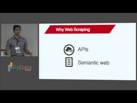 Karthik Ananth: Scrapy Workshop