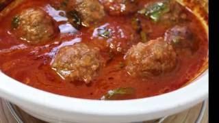 Firnda domates soslu köfte tarifi#Ramazan tarifleri# Et ve köfte tarifleri