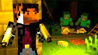 ПОБЕГ ИЗ ПЛЕНА! ЗОМБИ АПОКАЛИПСИС! ПОСЛЕДНИЙ ВЫЖИВШИЙ! - (Minecraft - Сериал)