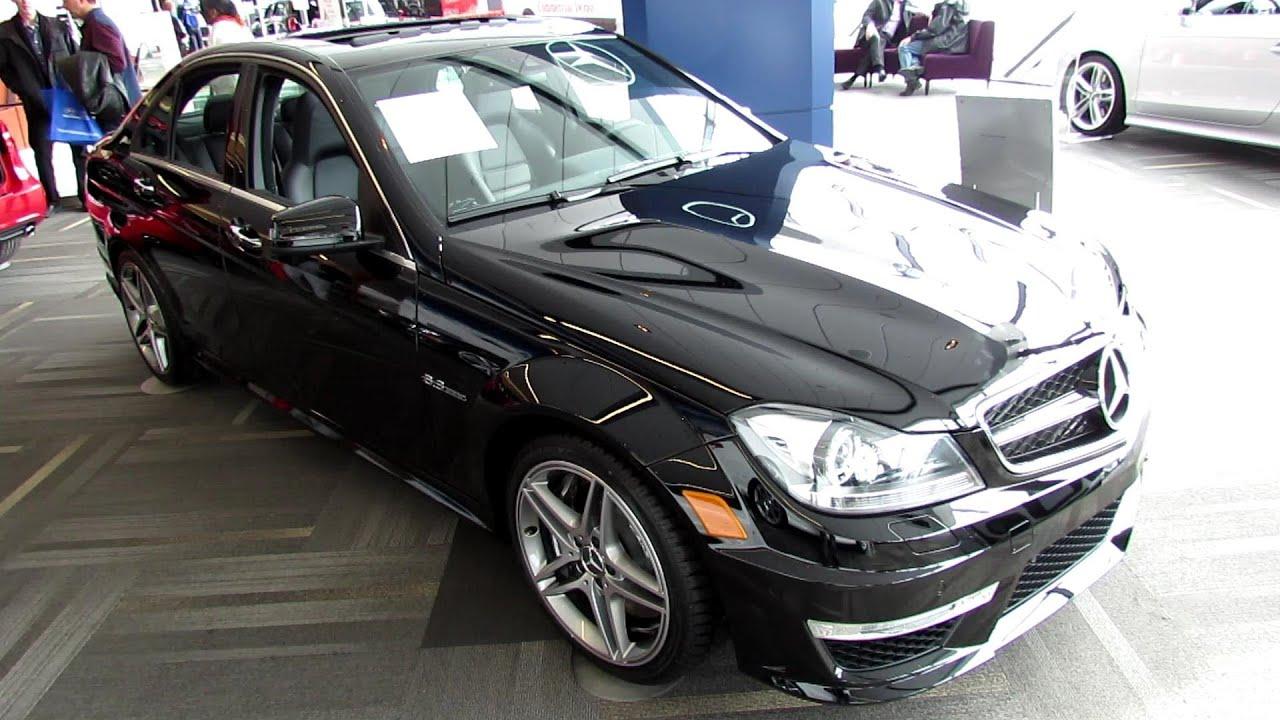 2013 Mercedes-Benz C63 AMG Sedan - Exterior and Interior Walkaround ...