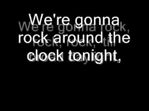 Rock Around the Clock Bill Haley    lyrics