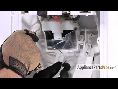 Refrigerator Ice Dispenser Chute Door (part #WP2180353)-How To Replace