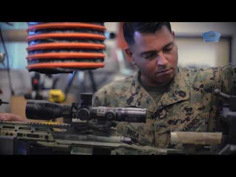 Marines Keep Weapons On Target