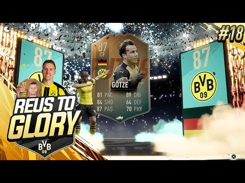 FLASHBACK GOTZE 26-4 CHAMPS  Reus To Glory 18  FIFA 19 Road To Glory