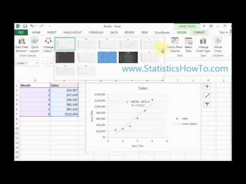 How To Make A Scatter Graph In Excel 2013 Youtube
