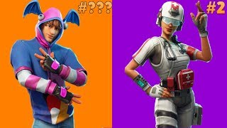 Ranking New LEAKED Skins In Fortnite Battle Royale | Stage Slayer, Hacivat, Field Surgeon & More!