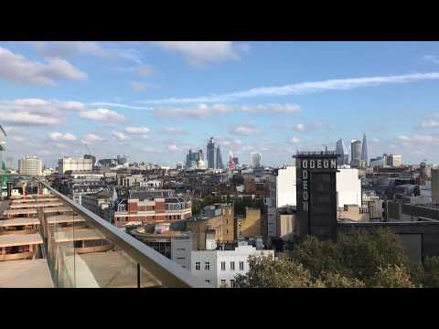 Hotel Indigo London 1 Leicester Square Rooftop Bar Balcony View