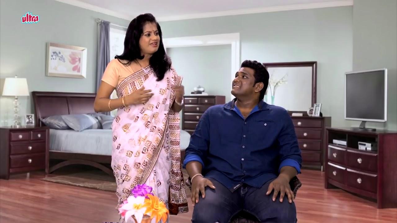Husband & Wife Comedy Funny Husband Marathi Latest Comedy Jokes
