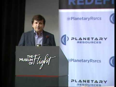 Planetary Resources, Inc. Press Conference, April 24, 2012 (Part 7 of 8)