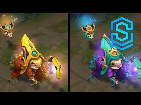 Cosmic Enchantress Lulu (And Aurelion Smol) Chroma Skins