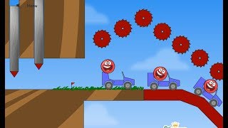 Red ball 4 Into The Red ball 1 Game Walkthrough (level 1 - 12) gameplay