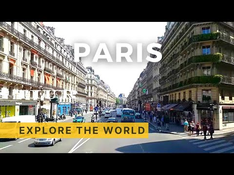 PARIS Bus Tour, France