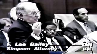 F. Lee Bailey ARGUES in court