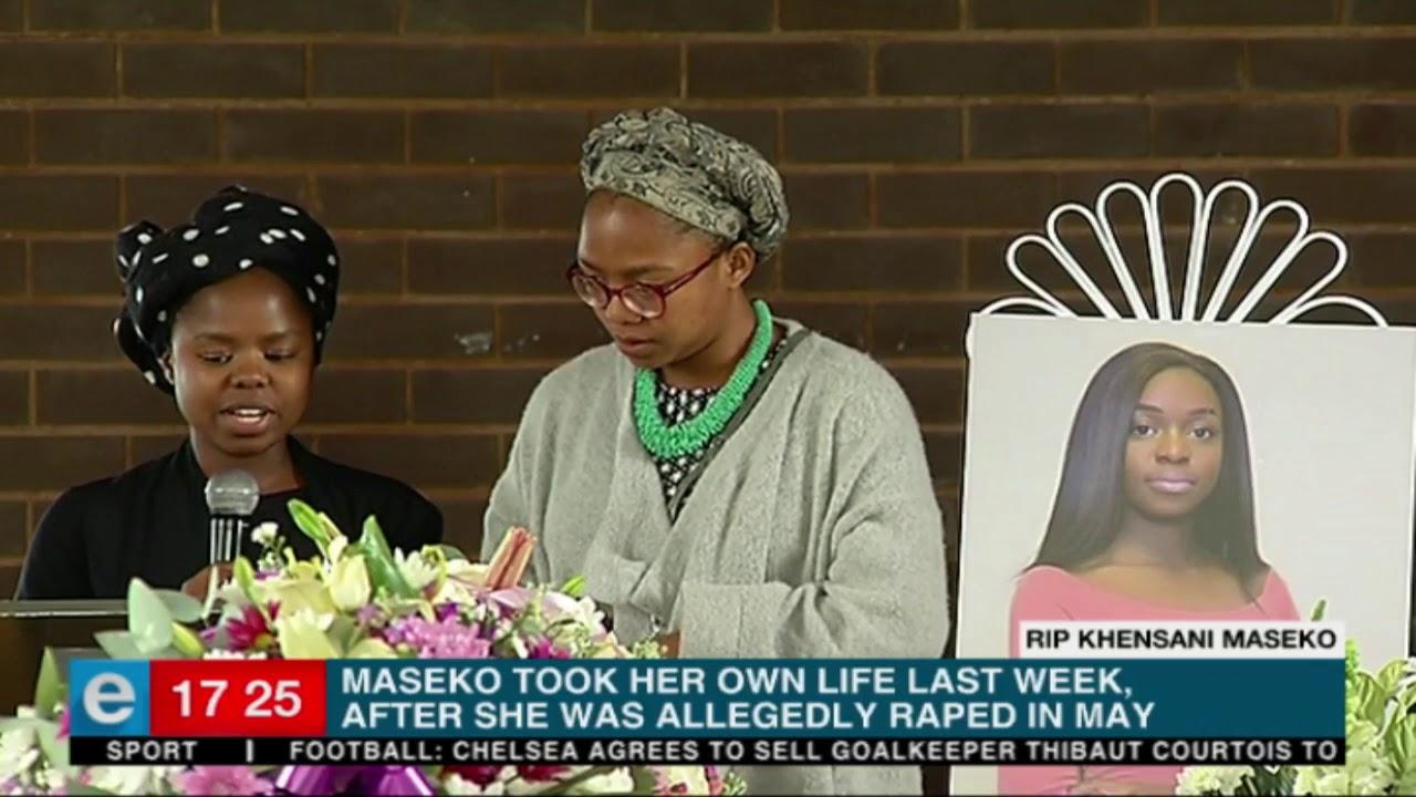Khensani Maseko laid to rest in Johannesburg, South Africa.