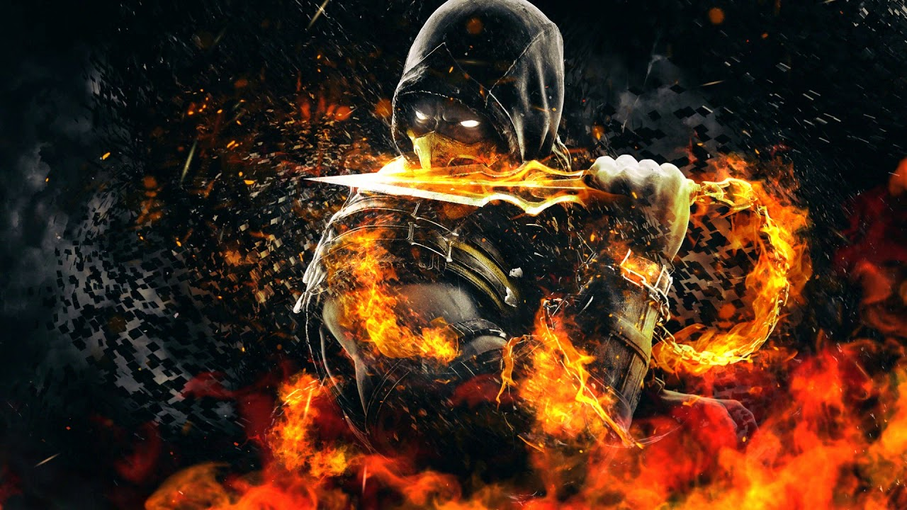 scorpion wallpaper engine - youtube