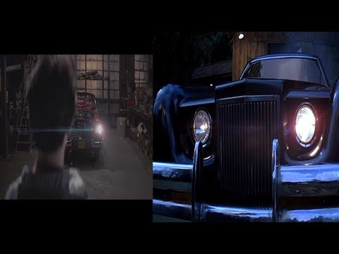 Christine Vs The Car (movie clips)