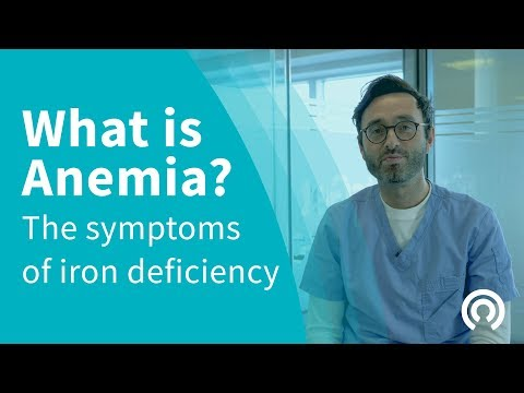 What is Anemia? The Symptoms of Iron Deficiency
