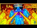 Minecraft - Fire Bending in one command! | Vanilla Command Creation!