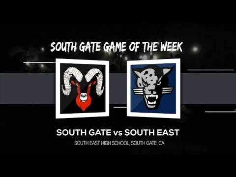 Football Game of the Week - South Gate v South East