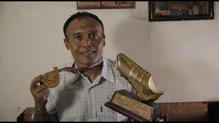 Video langka aksi Peri Sandria, Sang Pemilik Rekor 34 Gol di Liga Indonesia