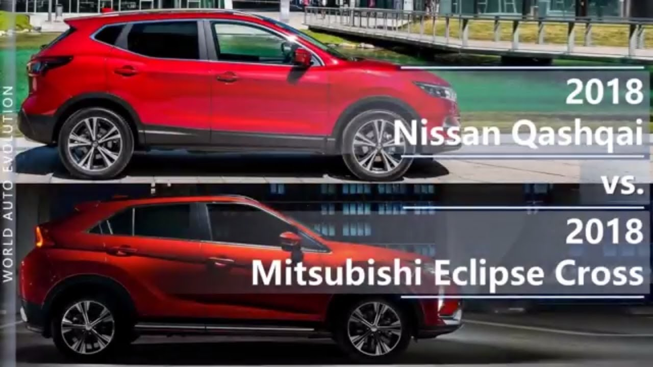 2018 Nissan Qashqai Vs Mitsubishi Eclipse Cross Technical Comparison
