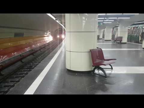 IVA intră in stația Parc Bazilescu dinspre Străulești | Probe M4