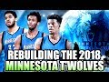 REBUILDING THE 2018 MINNESOTA TIMBERWOLVES  JIMMY BUTLER SUPER TEAM IN THE MAKING  NBA 2K17 MYLEAGUE