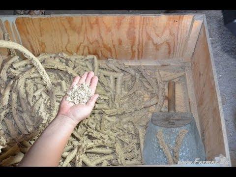 Самодельный экструдированный корм для кроликов. КФХ Ольги Полозовой