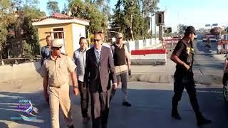مدير أمن كفر الشيخ يتفقد الكمائن ويفطر مع المجندين .. فيديو وصور