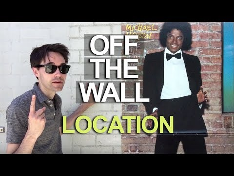 Off the Wall Album Cover Location