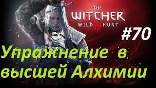 The Witcher 3 Wild Hunt Прохождение 70 - Упражнения в высшей Алхимии \ Exercises in Higher Alchemy