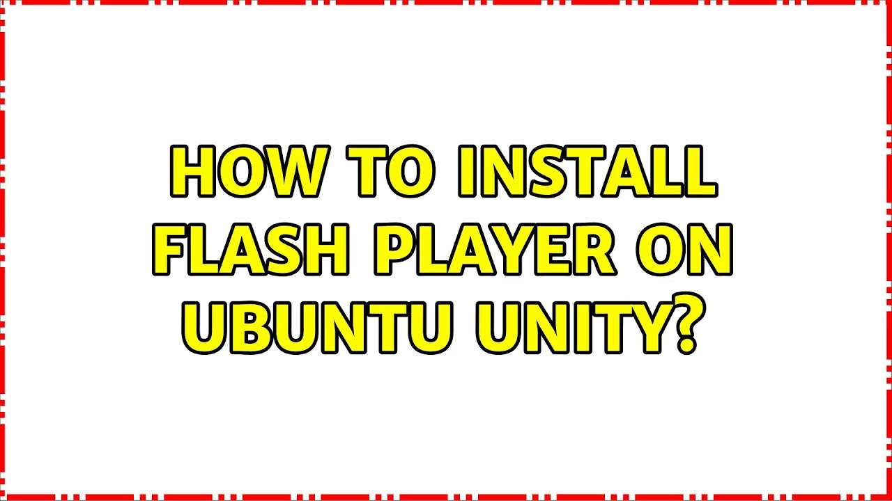 Download Unity Flash Player