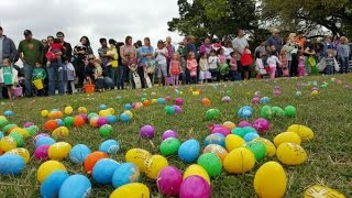 Texas sized Easter egg hunt with over 50,000 eggs