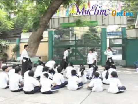 Lớp võ tự vệ học trò - Mực Tím Online - Aikido Meidokan 合気道