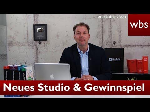 Neues Studio + Adventskalender Gewinnspiel | Rechtsanwalt Christian Solmecke