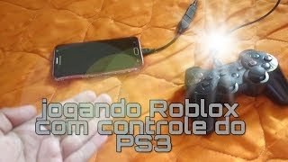 Playing Roblox with PS3 control